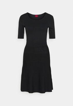 HUGO - SHANEQUA - Vestido de punto - black