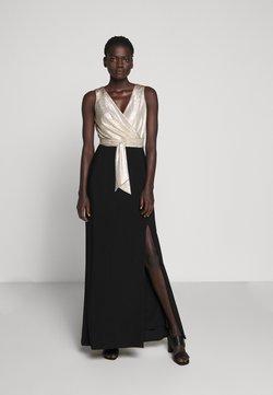 Lauren Ralph Lauren - CLASSIC LONG GOWN COMBO - Occasion wear - black/lannister