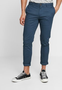 Scotch & Soda - MOTT CLASSIC SLIM FIT - Chinot - steel