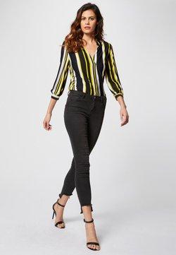 Morgan - TISLAN WITH FANTASY COLLAR - Bluse - yellow