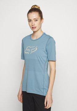 Fox Racing - WOMENS RANGER - T-Shirt print - light blue