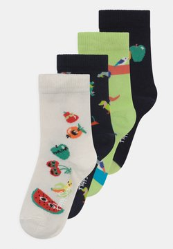 Happy Socks - DOGS & FRUIT MIX 4 PACK UNISEX - Calcetines - multi-coloured