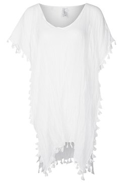 Seafolly - BEACH EDIT-AMNESIA KAFTAN - Beach accessory - white