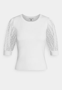 Forever New - ADA SHEER SLEEVE - Trui - porcelain