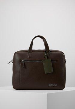 Calvin Klein - POCKET LAPTOP BAG - Aktentasche - black