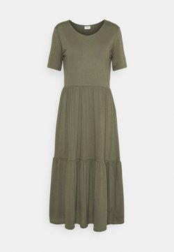 JDY - JDYDALILA FROSTY - Sukienka z dżerseju - kalamata