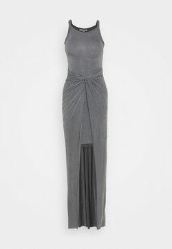 AllSaints - SAMI DRESS - Maxikjole - chrome grey