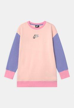 Nike Sportswear - CREW - Sweatshirt - orange pearl/light thistle/pink