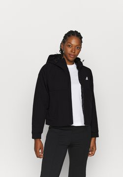 adidas Performance - HOODED - Winterjacke - black/white
