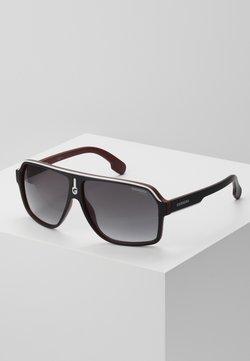 Carrera - Gafas de sol - black/dark red