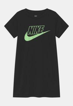 Nike Sportswear - GLOW IN THE DARK  - Jerseyklänning - black