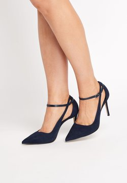 Next - SIGNATURE CUT-OUT COURT SHOES - High Heel Pumps - blue