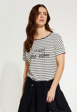 comma casual identity - T-Shirt print - white