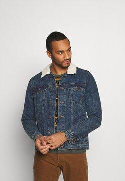 Redefined Rebel - DAMIEN - Kurtka jeansowa - dark blue