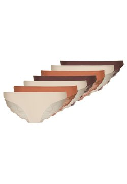 Anna Field - 7 PACK - Slip - brown/tan/nude