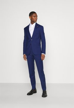 Tommy Hilfiger Tailored - FLEX STRIPE SLIM FIT SUIT SET - Puku - blue