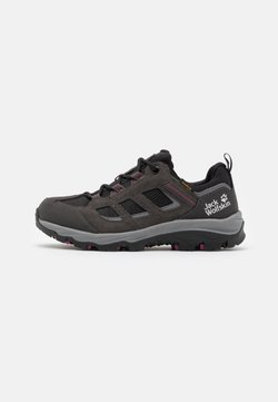 Jack Wolfskin - VOJO 3 TEXAPORE LOW  - Hikingschuh - dark steel/purple