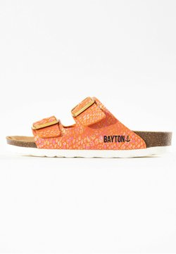 BAYTON - Mules - orange