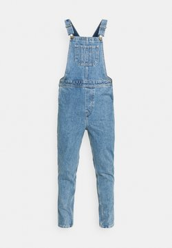 Jack & Jones - JJIMIKE JJDUNGAREE - Tuinbroek - blue denim