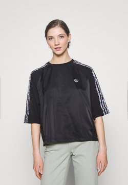 adidas Originals - BOXY - T-Shirt print - black