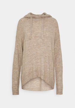 ONLY - ONLCORINNE HOOD - Sweat à capuche - toasted coconut melange