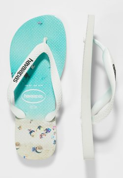 Havaianas - HYPE - Teenslippers - white/water