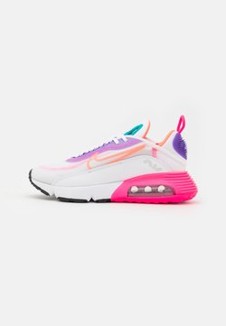 Nike Sportswear - AIR MAX 2090 - Sneakers laag - white/hyper orange/photon dust/hyper pink/hyper grape/turbo green