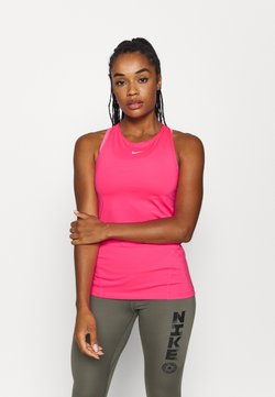Nike Performance - TANK ALL OVER  - Funktionsshirt - hyper pink/white