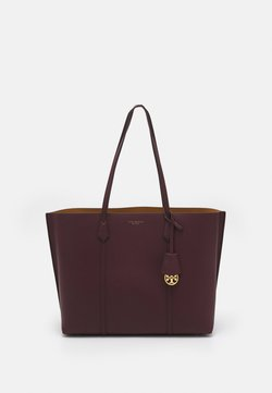 Tory Burch - PERRY TRIPLE COMPARTMENT TOTE - Shopping bag - dark rhubarb