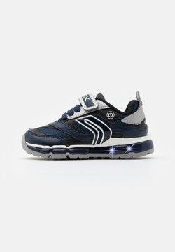Geox - BOY - Sneaker low - navy/silver