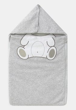 Jacky Baby - WELCOME UNISEX - Nachtwäsche Schlafsack - hellgrau melange