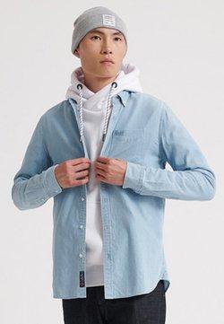 Superdry - MIT LANGEN ÄRMELN  - Shirt - blue