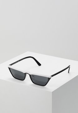 Prada - Lunettes de soleil - white/black
