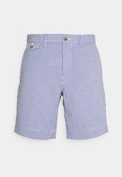 Polo Ralph Lauren - SEERSUCKER - Shorts - blue/white