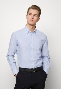 Tommy Hilfiger Tailored - WASHED STRIPE BUTTON DOWN  - Overhemd - blue