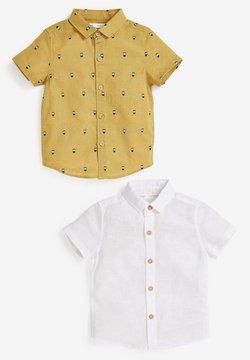 Next - 2 PACK  - Camisa - yellow, white