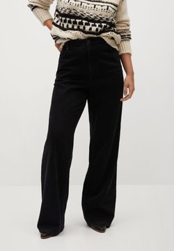 Violeta by Mango - ERIKA-I - Jeans a zampa - black denim