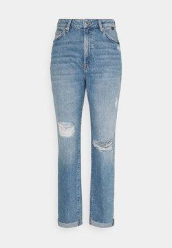 Mavi - STELLA - Relaxed fit jeans - light distressed denim