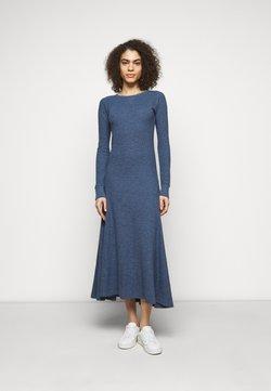 Polo Ralph Lauren - WAFFLE - Vestido de punto - river blue heather