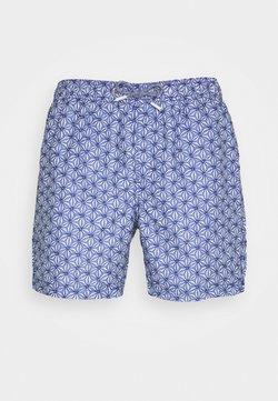 Burton Menswear London - MOROCCAN TILE - Bañador - navy