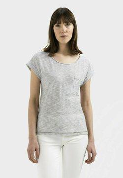camel active - T-Shirt print - khaki white