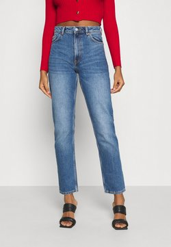Monki - MOLUNA JEANS - Vaqueros rectos - blue medium dusty