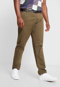 Jack´s Sportswear - STRETCH WITH BELT - Chinot - army