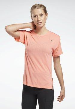 Reebok - WORKOUT READY ACTIVCHILL T-SHIRT - T-shirt basic - red