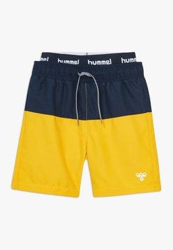 Hummel - HMLGARNER BOARD - Badeshorts - golden rod