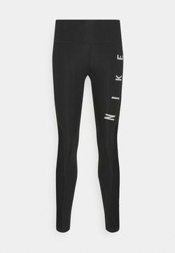 Nike Performance - RUN EPIC FAST - Tights - black/reflective silver