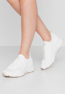 Tamaris Fashletics - LACE-UP - Sneakers laag - white