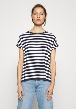 Marc O'Polo DENIM - T-Shirt print - multi/scandinavian blue