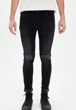 DeFacto - Slim fit jeans - anthracite