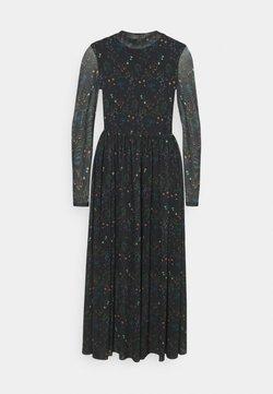 TOM TAILOR DENIM - PRINTED DRESS - Freizeitkleid - black